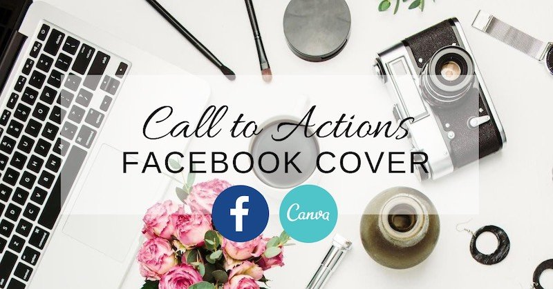 Update your Facebook cover with a call to action
